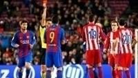 Luis Suarez Expulso Barcelona Atletico de Madri Copa do Rei 07/02/2017