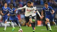 Tottenham foi derrotado pelo Chelsea na semifinal da FA Cup, em pleno Wembley Stadium