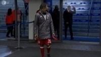 Canal ZDF flagrou o momento em que Carlo Ancelotti mostrou o dedo do meio para torcedores do Hertha