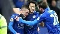 Vardy marcou seu primeiro gol pelo Leicester em 2017