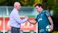 Galiotte garantiu a permanência de Cuca e Mattos no Palmeiras