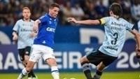O Cruzeiro, de Thiago Neves, vem de bom empate por 3 a 3 contra o Grêmio