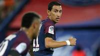 Di María e Neymar, em ação pelo PSG no Campeonato Francês