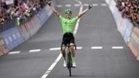 Pierre Rolland Comemora Vitoria Giro d'Itália 24/05/2017