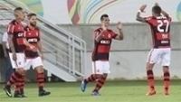 Trauco fez boa estreia pelo Flamengo contra o Boavista no Carioca