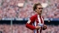 Griezmann em partida pelo Atlético de Madri