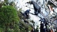Chapecoense Acidente Avião Bombeiros 29/11/2016