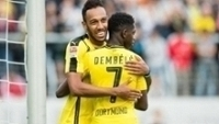 Pierre-Emerick Aubameyang, Ousmane Dembele, 2016, Borussia Dortmund