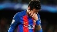 Neymar Lamenta Barcelona Juventus Champions 19/04/2017
