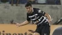Balbuena durante jogo do Corinthians