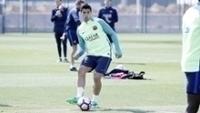 Luis Suaréz se lesionou em treino do Barcelona e encerrou a temporada