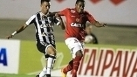 Ceará e Vila Nova empataram por 1 a 1, em Goiânia