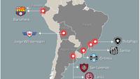 Mapa Libertadores