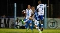 Everton, do Grêmio, durante jogo contra o Novo Hamburgo