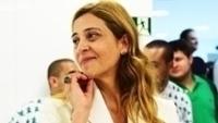 Leila Pereira admitiu que seu pai é torcedor do Vasco