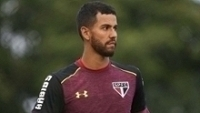 Renan Ribeiro treina no São Paulo