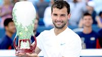Dimitrov ergue o troféu do Masters 1000 de Cincinnati