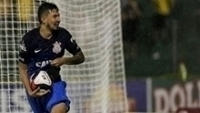 Pedro Henrique comemora gol marcado contra o Mirassol
