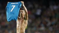 Cristiano Ronaldo poderá pegar 12 jogos de suspensão por empurrar árbitro