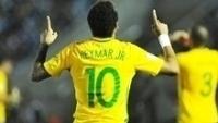 Neymar Comemora Gol Brasil Uruguai Eliminatórias Copa-2018 23/03/2017