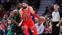 Chicago Bulls, de Nikola Mirotic, venceu o Boston Celtics na NBA