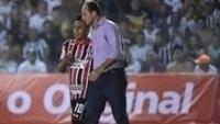 Cueva conversa com Rogério Ceni