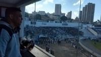 Ronaldo acompanhou a primeira final no estádio Moisés Lucarelli