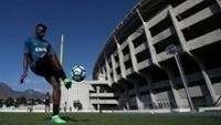 Novo reforço do Botafogo, Marcus Vinícius treina com a camisa do time carioca