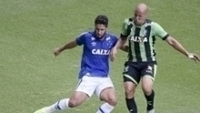 América-MG pressionou, mas não conseguiu a vitória contra o Cruzeiro