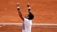 Djokovic comemorou aliviado após vencer na estreia
