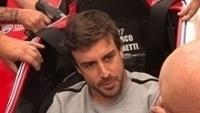 Alonso testou cockpit de Marco Andretti