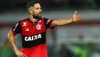 Diego, na derrota do Flamengo para o Grêmio no Brasileiro