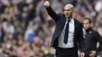 O técnico Zinedine Zidane, do Real Madrid, elogiou Bane