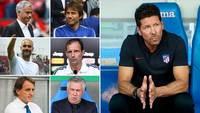 Diego Simeone está perto de completar seis anos de Atlético de Madri