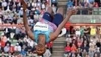 Mutaz Essa Barshim obteve a terceira vitória seguida no salto em altura