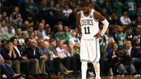 Kyrie Irving, do Boston Celtics, lamenta derrota para o Milwaukee Bucks