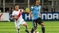 Cueva deixou jogo do Peru machucado
