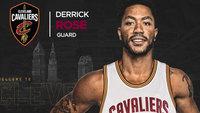 Derrick Rose assinou por uma temporada com o Cleveland Cavaliers