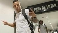 Guilherme Arana Vestiario Corinthians Santos Campeonato Paulista 04/03/2017