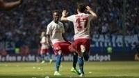 Hamburgo venceu o Wolfsburg por 2 a 1, de virada