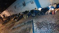 Torcedores foram encaminhados para a Cidade da Polícia