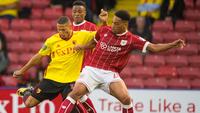 Richarlison não conseguiu evitar a queda precoce do Watford na Copa da Liga Inglesa