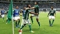 Borja Comemora Gol Palmeiras Ferroviaria Campeonato Paulista 25/02/2017