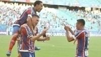 Bahia atropelou o Atlético-PR na estreia pelo Brasileirão