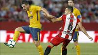 Koke, do Altético de Madri, luta pela posse da bola