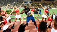 Bolt faturou os 100m rasos na etapa de Monaco da Diamond League