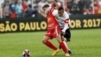 Mateus Criciúma em ação pelo Paulista durante a Copa São Paulo