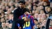 Rijkaard foi o técnico que lançou Messi entre os profissionais