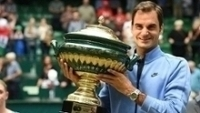 Roger Federer conquistou mais uma taça neste domingo