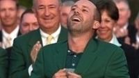 Sergio García parece não acreditar, mas é verdade: campeão do Masters de Augusta